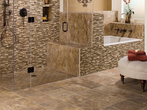 Stone & Tile Combination